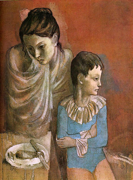 Pablo Picasso. Mother and child 1904-1906