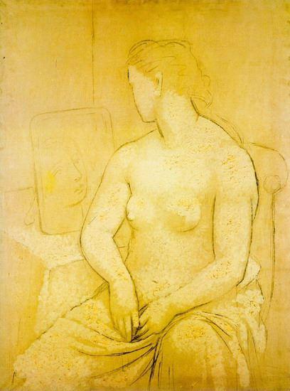 Pablo Picasso. Nu assis 1901