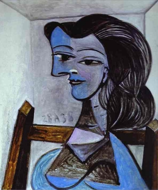 Pablo Picasso, Nusch Eluard, 1938, Oil on canvas