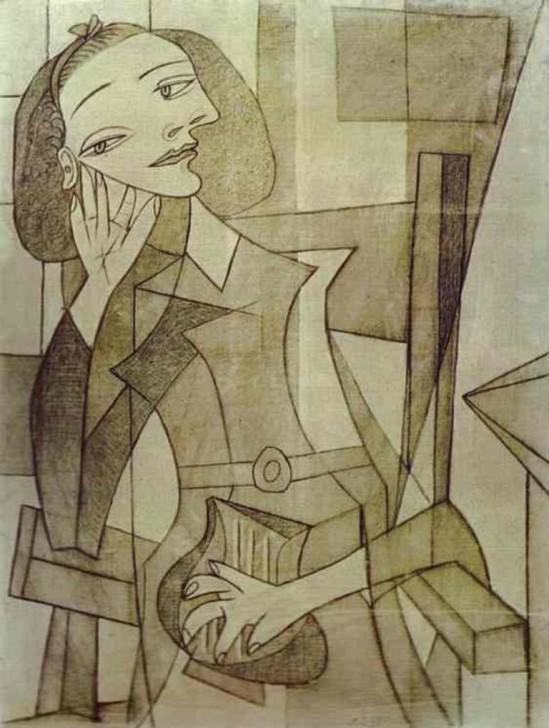 Pablo Picasso, Portrait of Nusch Eluard, 1938