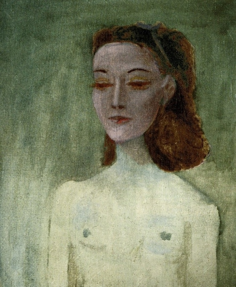Pablo Picasso. Portrait of Nush Eluard 1941 Oil on canvas 73 x 60 cm