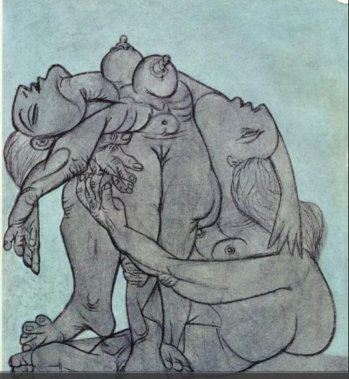 Pablo Picasso. Sans titre 1936