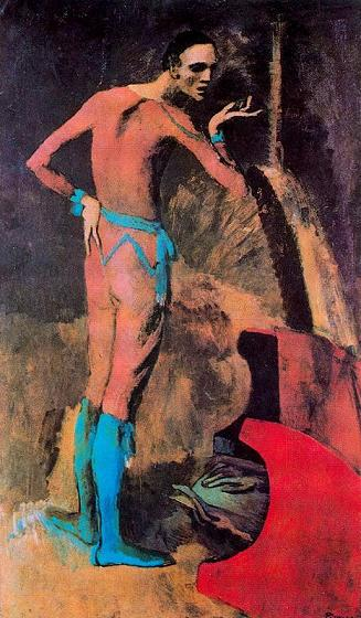 Pablo Picasso. The actor 1904