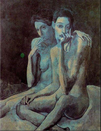 Pablo Picasso. Two friends 1904