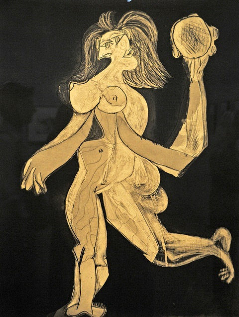 Pablo Picasso. Woman with Tambourine 1939