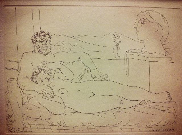 Pablo Picasso. From Vollard suite