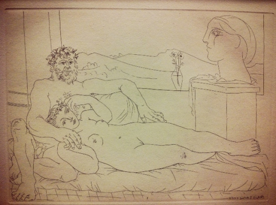 Pablo Picasso. From Vollard suite
