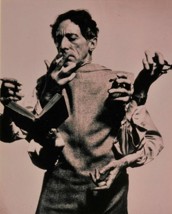 Philippe Halsman. Jean Cocteau 1948 Via museecocteau