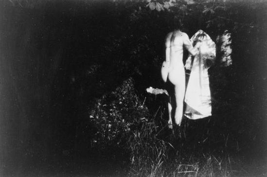 Pierre Bonnard. entre 1900 et 1901 Fonds Pierre Bonnard Jardin de Montval. Marthe .RMN