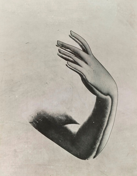Pierre Boucher. Solarized arm and hand 1933