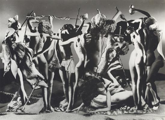 Raoul Ubac. Le Combat de Penthésilée II, 1937 Via mutualart