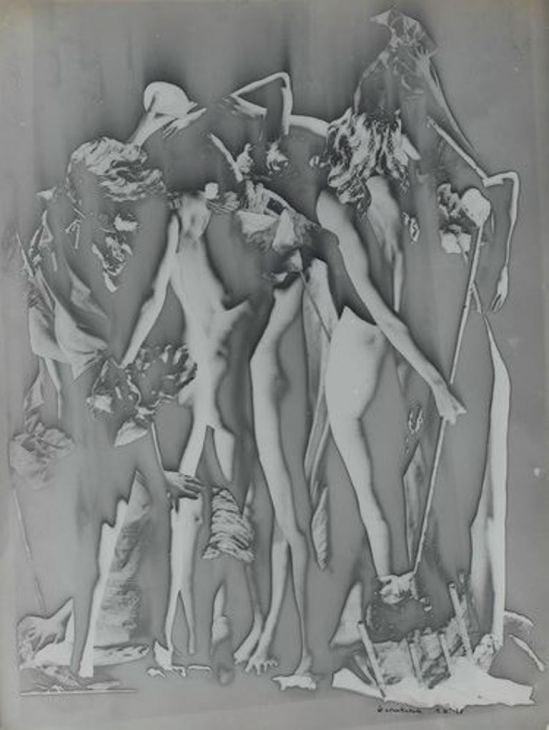 Raoul Ubac. Le conciliabule 1938. Via RMN