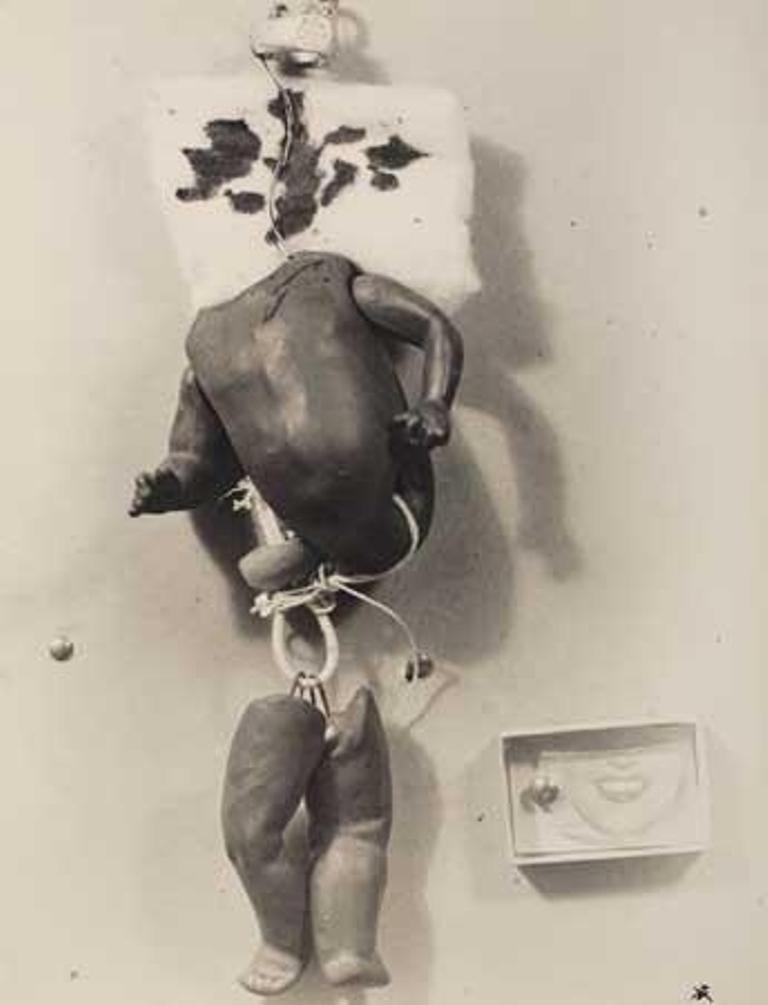 Raoul Ubac. Objet par Camille Bryen (pour L'Adventure des Objets) 1935 Via mutualart