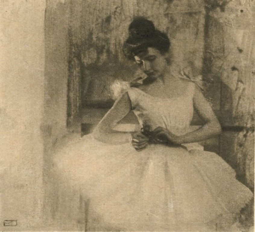 Robert Demachy, Behind the Scenes, 1910. Via theredlist
