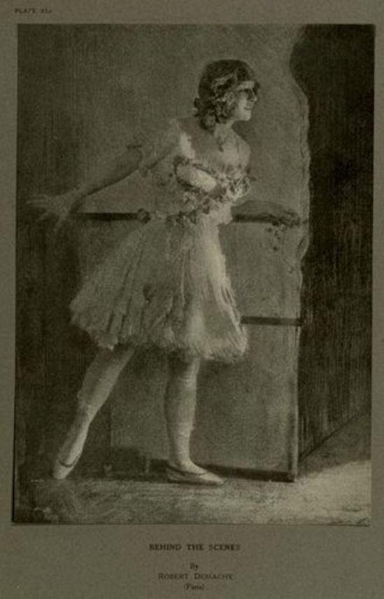 Robert Demachy. Behind the scenes 1915. Via luminous-lint