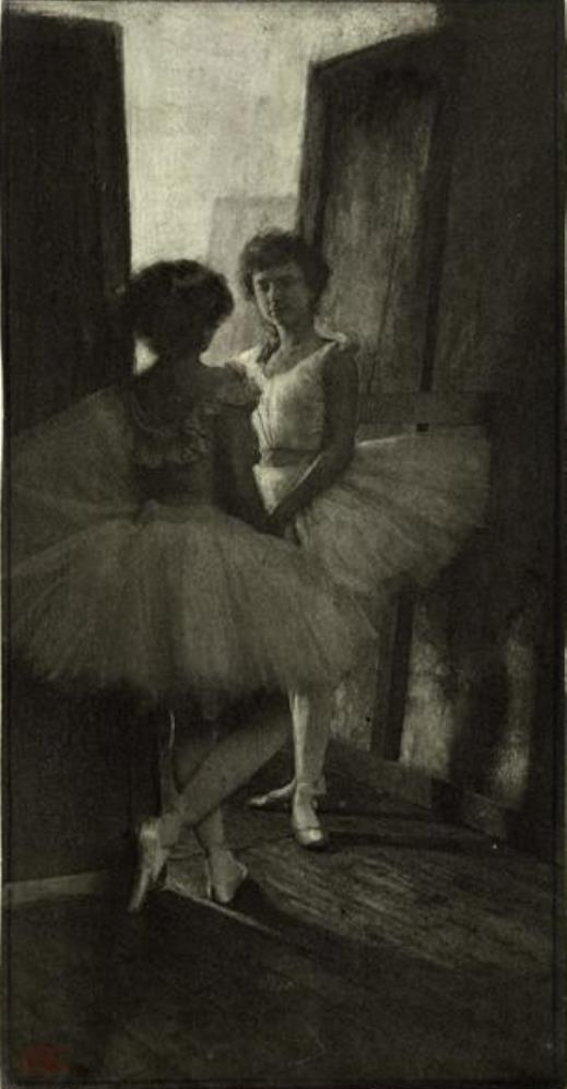 Robert Demachy, Behind the Scenes, c. 1897. Theredlist