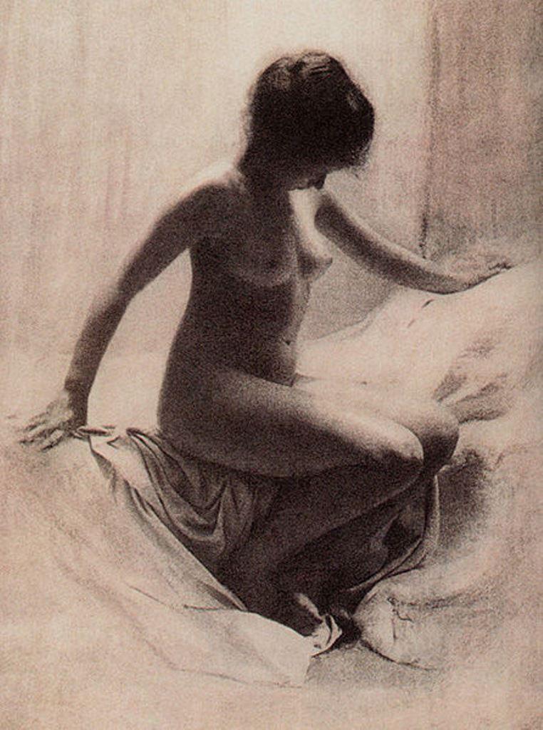 Robert Demachy. Figure study 1906. Via wiki