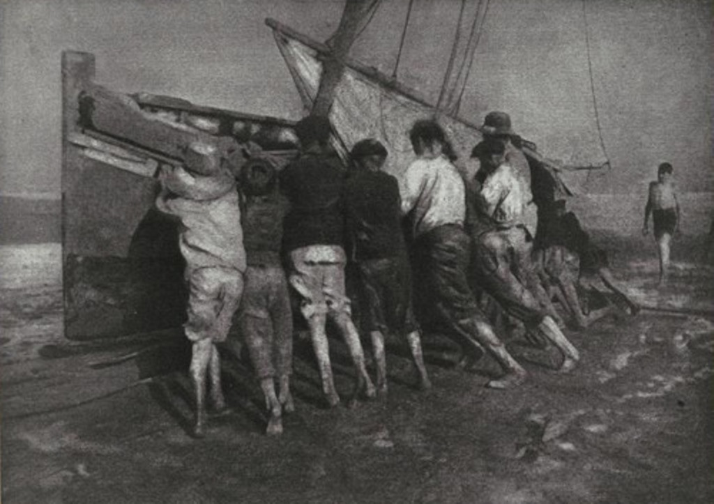 Robert Demachy.L'Effort. Camera Work XI, 1905