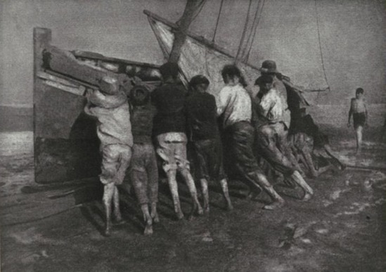 Robert Demachy.L'Effort. Camera Work XI, 1905
