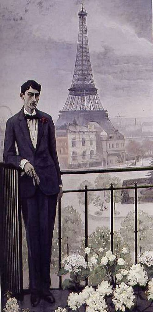 Romaine Brooks. Portrait de Jean Cocteau 1912