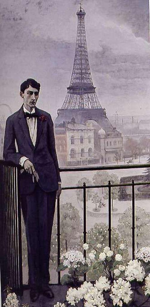 Romaine Brooks. Portrait de Jean Cocteau 1912