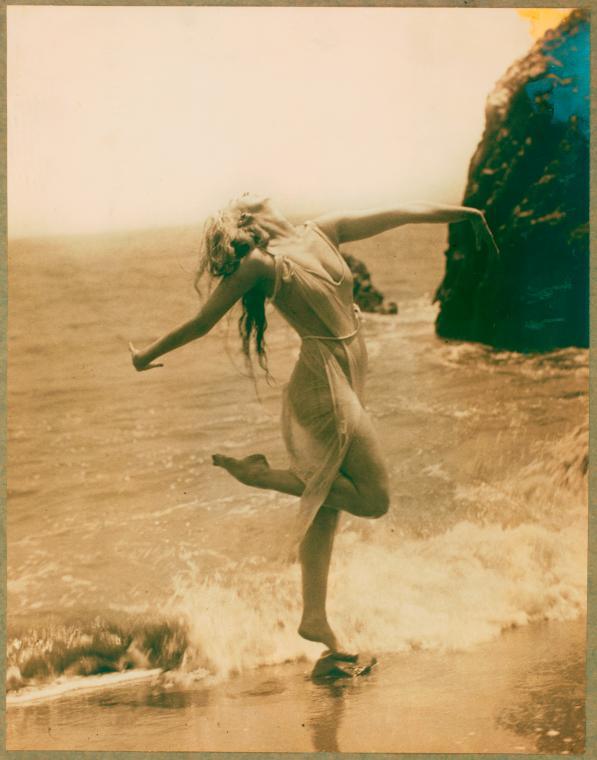 Ruth St. Denis 1915 Via teenagnster