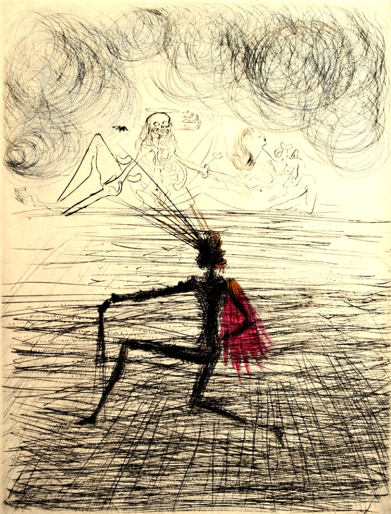 Salvador Dali. Faust