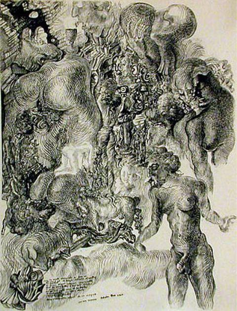 Salvador Dali. La femme visible 1930