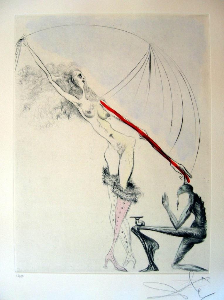Salvador Dali. Vénus in furs