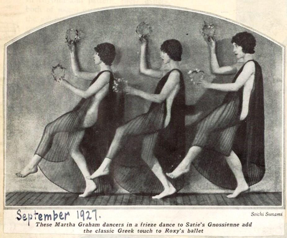Soichi Sunami. Martha Graham 1927 Via LOC