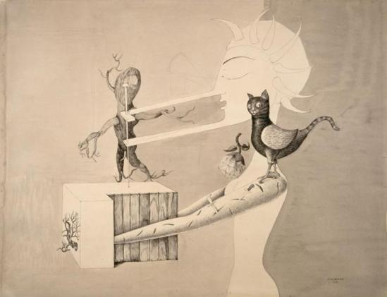Victor Brauner. La mandragore 1939 Via RMN