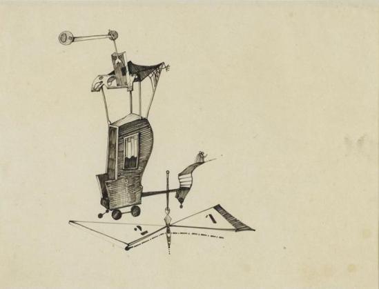 Victor Brauner. Sans titre 1932 Via RMN