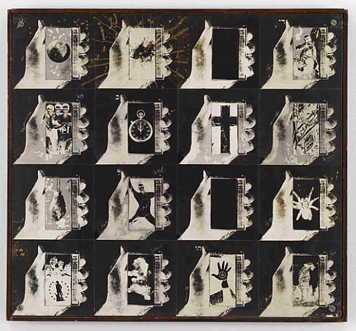 Wallace Berman. Sans titre 1967-1968. Verifax collage