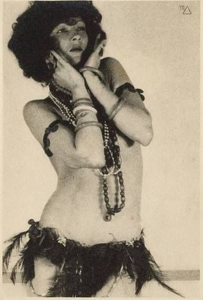 William Mortensen. Joyzelle Joyner as Salomé. Via historicalzg.piwigo