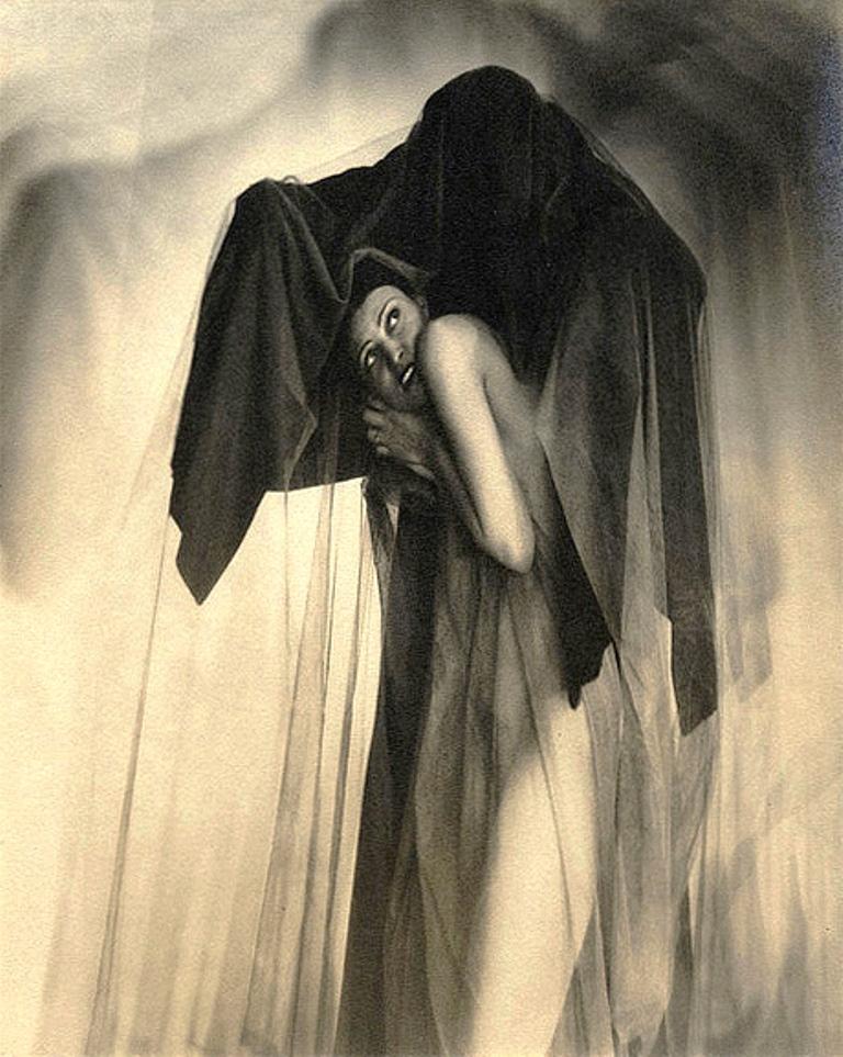 William Mortensen. Obsession 1930 Via artblart