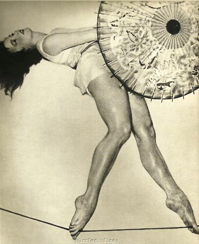William Mortensen. Rope walker 1936 Via ebay