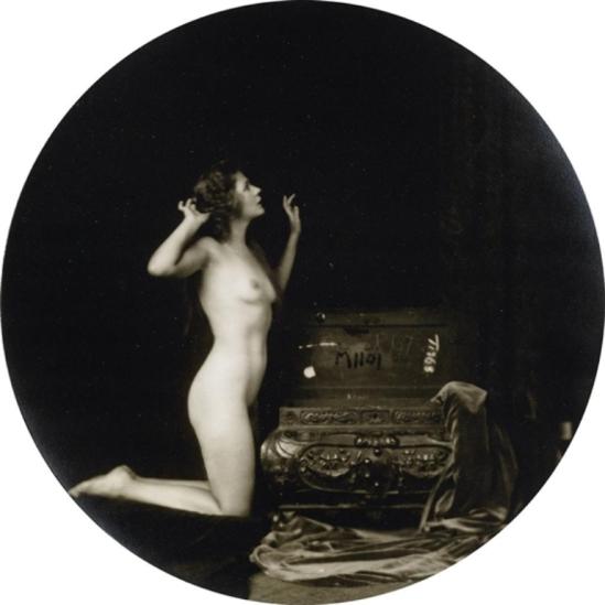 Alfred Cheney Johnston.  Barbara Deane 1920 Via mutualart