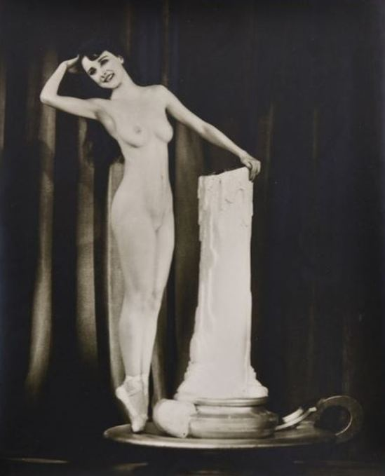 Alfred Cheney Johnston.  Muriel Paige Via historicalzg