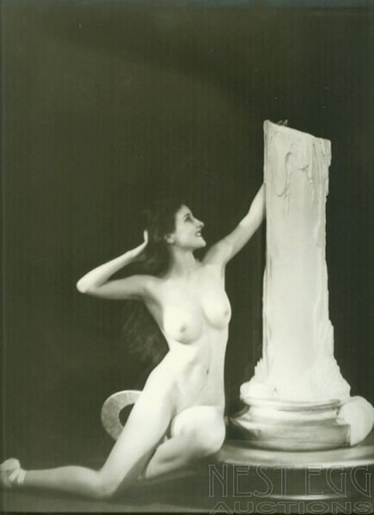 Alfred Cheney Johnston.  Muriel Paige Via liveauctioneers