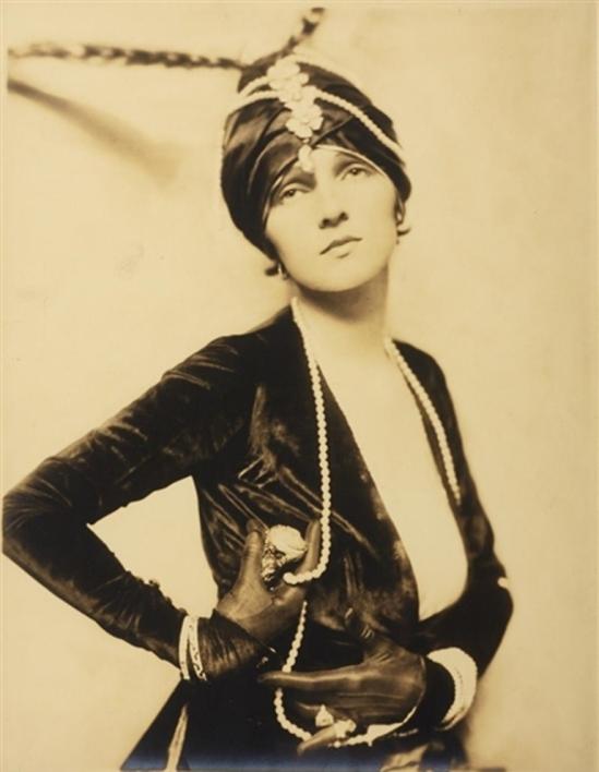 Alfred Cheney Johnston. Woman with turban 1910 Via mutualart