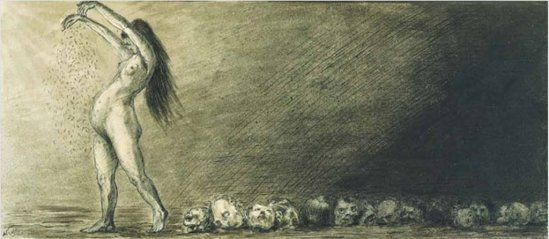 Alfred Kubin. Earth, mother of us all
