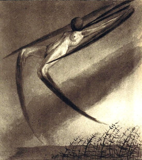 Alfred Kubin. Every night a dream visits us 1904
