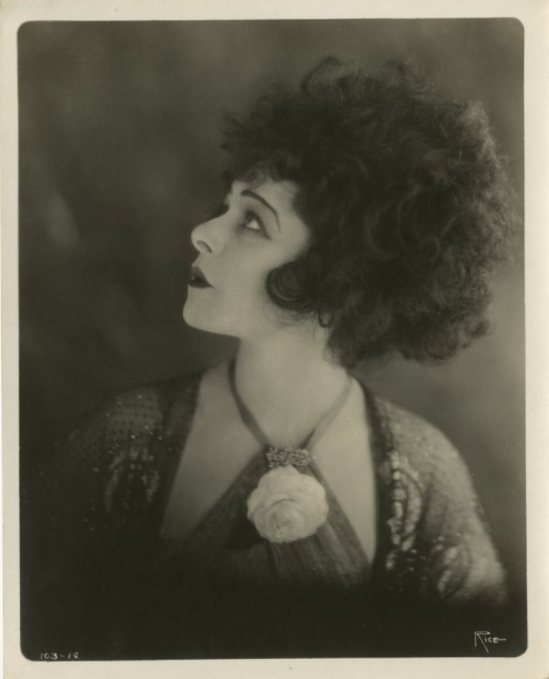 Alla Nazimova gallery portrait from Camille by Arthur F. Rice Via liveauctioneers