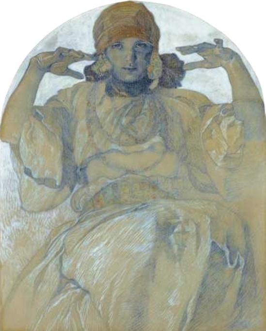Alphonse Marie Mucha. Jaroslava Mucha Via mutualart