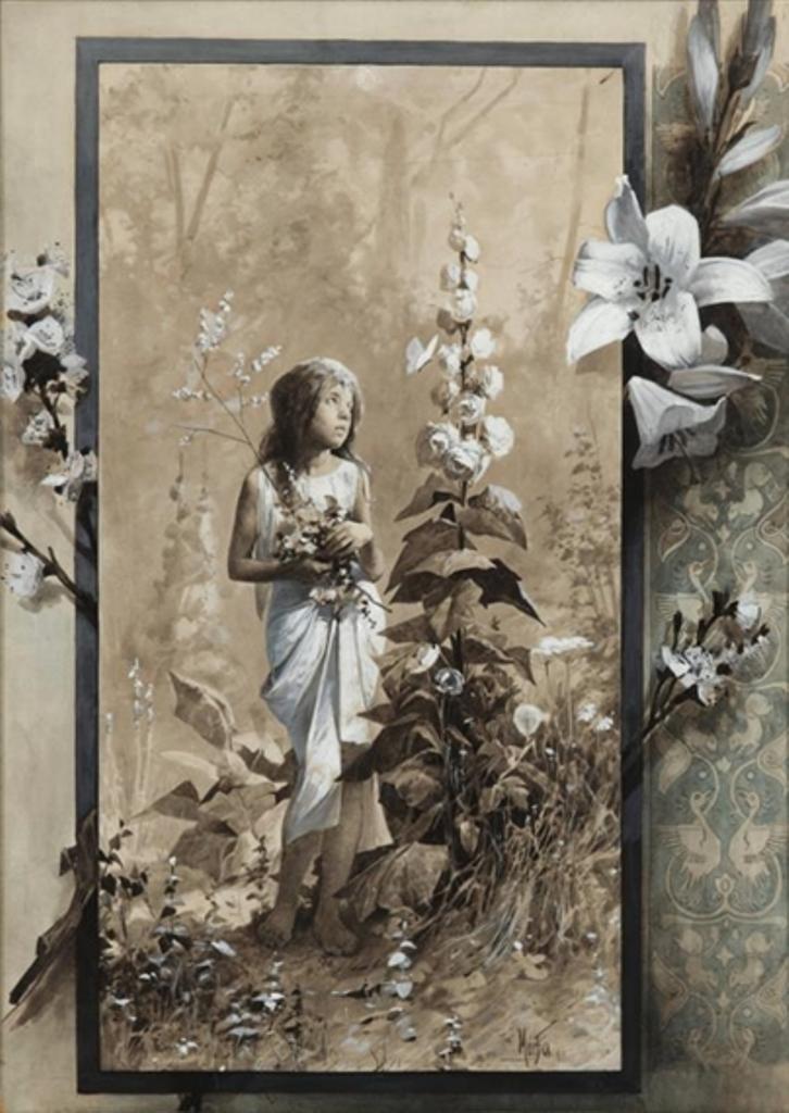 Alphonse Marie Mucha. Lilita 1890 Via mutualart