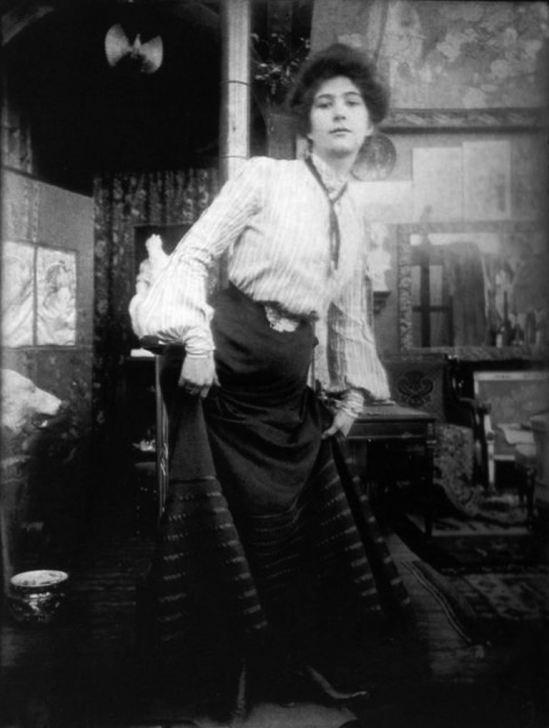 Alphonse Marie Mucha. Photographic study 1899 Via muchafoundation