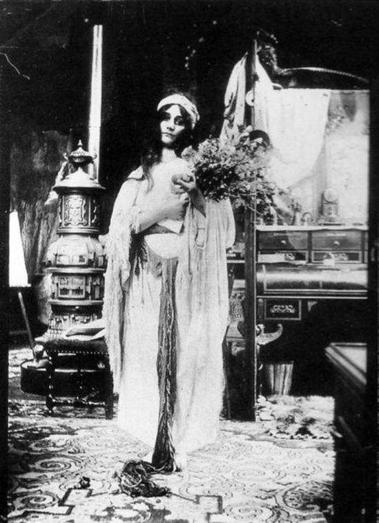 Alphonse Marie Mucha. Photographic study 1900 Via muchafoundation