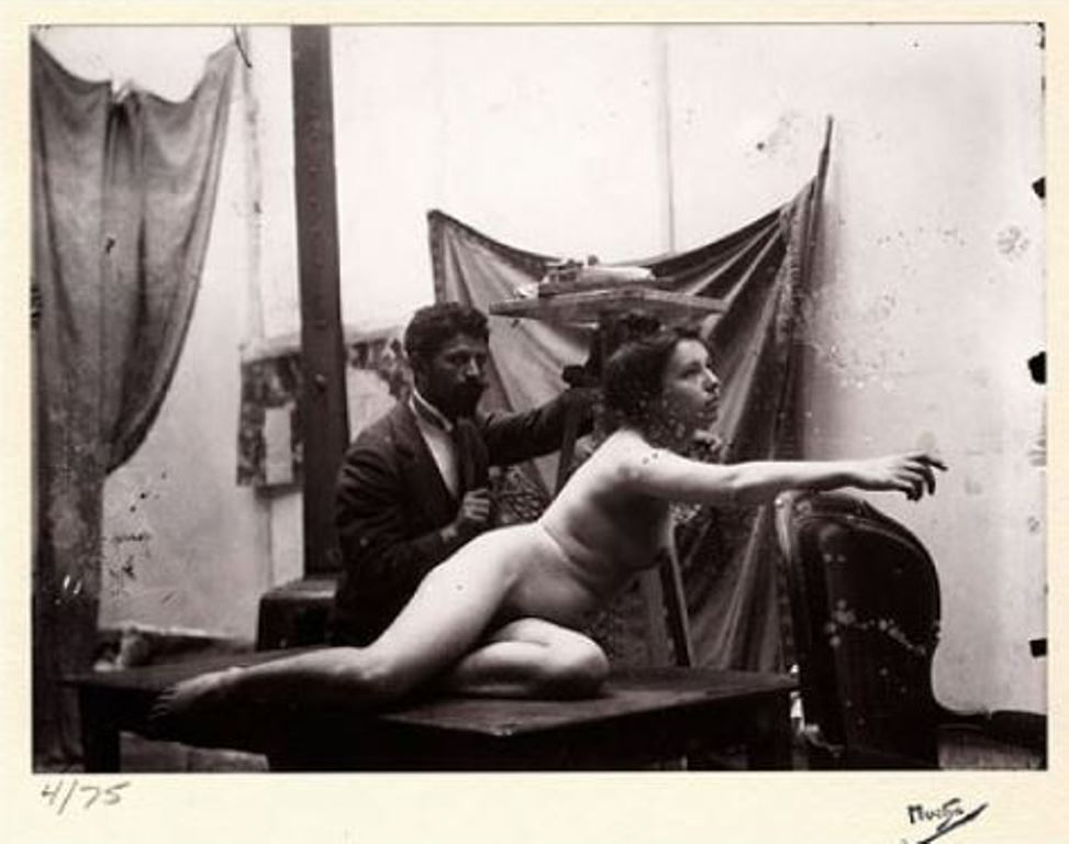 Alphonse Marie Mucha. Study for the Bosbia-Hercegovina pavillon at the World Fair 1900 Via paulcava.com