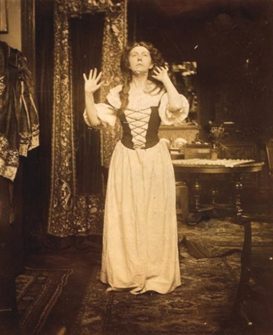 Alphonse Marie Mucha. Untitled (Maude Adams) 1909 Via mutualart