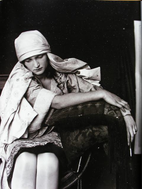 Alphonse Marie Mucha11. Model posing in Mucha's studio rue du Val de Grâce  Via muchafoundation